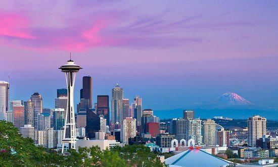 Estudar inglês em Seattle