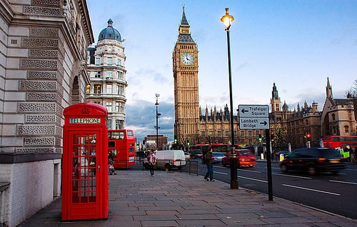 Intercâmbio para Londres
