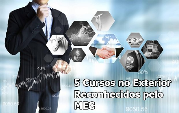 5 Cursos no Exterior Reconhecidos pelo MEC